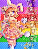 Pixelanime rainbow - Wendy by Crizthal