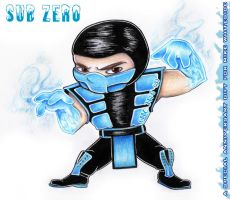 Sub Zero Chibi by tavington
