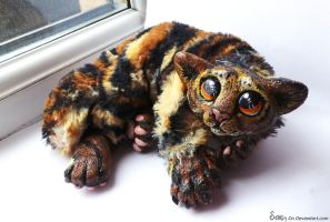 Custom Wildcat Tiger plush SOLD . by Sovriin