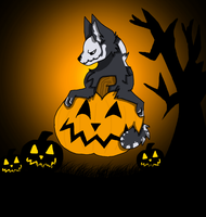 Its Halloween (Entry #2) by WolvesPoniesOhMy