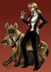 Harley in a suit by silvanoir
