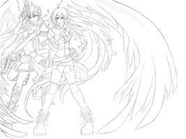 RWBY-PSG Crossover (WIP) by dishwasher1910
