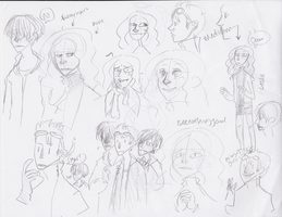 Sketchy Characters by Thystle
