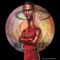 Chris Bosh by jiangming