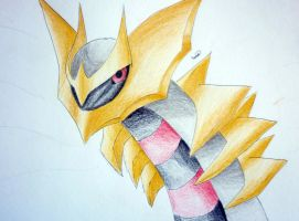 Giratina origin form by Ryan-sprite