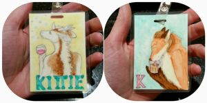 Watercolor badge Sale! by Kitaronicus