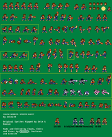 Chuck Norris Sprite Sheet by EnteiTheHedgehog