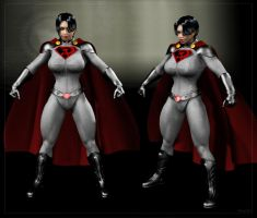 Soviet-Superwoman Redesign II by Stone3D