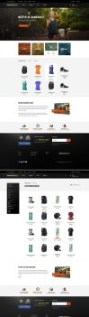 Sport eCommerce website by F-l-a-g