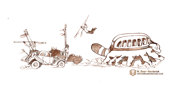 My Neighbor Mad Max: Furry Road by WithintheMechanism