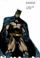 the batman colored by Panther10