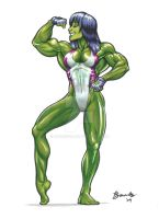 She-Hulk by Bambs79