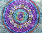 Huge Mandala1 Finished by Lou-in-Canada