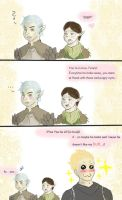 Fenris doesnt like butts - DA2 by ImperialCharles