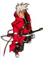 Ragna the Bloodedge by Chipp-Zanuff