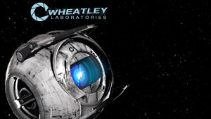 Wheatley in Space by JesseLieberg