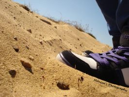 Walking in the dune. by MonicaSousa