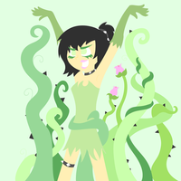 Plant Sam-lineless by nenogirlygirl
