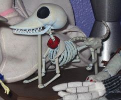 Corpse Bride- Scraps the Dog by IsabellaPrice
