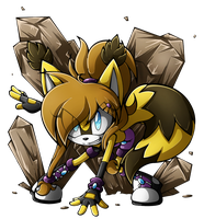 .:Terra The Raccoon:. by RubySp00n