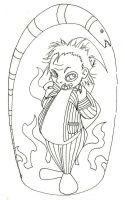 Beetlejuice -WIP- by Scunosi