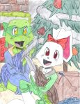 TMNT Secret Santa_Leo+Usagi by kogaswolftribebabe