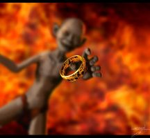 Lord of the Rings / Smeagol by PetuGee