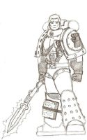 Rogal Dorn by SamwiseTheAwesome