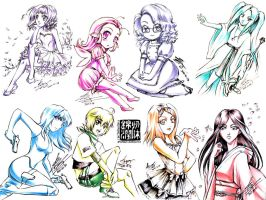 Event sketches - Misc 2 - 2011 by sonialeong