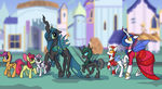 Commission: Parade 3: The Crystalline Raj by DarkFlame75