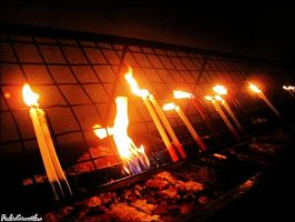 Photography : Candles of Life by PaulaKun