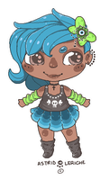 Chibi Punk Adoptable -- CLOSED by Hardrockangel-Adopts