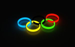 Olympic games logo 3d by Siccie