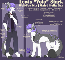:: Lewis Stark :: by WlNCH3STER