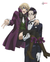 [ Render ] Claude and Alois by Nio-Nyan