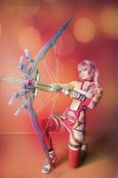 Serah Farron cosplay by Salvarion