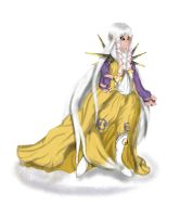 Com/Custom: Gijinka Renamon by jan-scolors