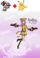 Maplestory Ryeo + Pikachu ! (revised) by Zerox-II