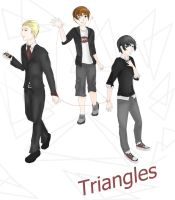 Triangles Cover by GravitysMirage