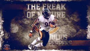 The Freak Julius Peppers by Photopops