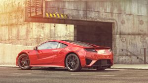 Honda NSX 2016 by Trisquote