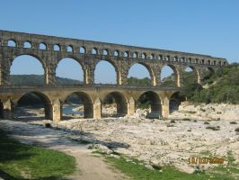 Roman Aquaduct by ChapterAquila92