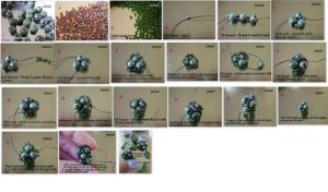 a simple beaded bead tutorial by gordissima