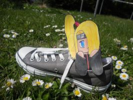 Deidara in chucks paperchild by GingaDensetsuSaphira