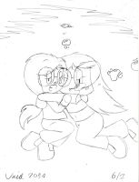 Breathholding 2014: Megan and Echo by Son-Void