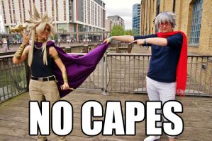 No capes! by Julesie