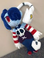 Squigly and Leviathon Plush by Cryptic-Enigma