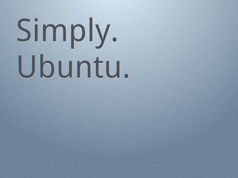 Simply.Ubuntu. Light 1600x1200 by MrElemental