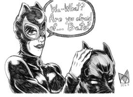 CatWoman - Are you afraid of Bats? by mdkex