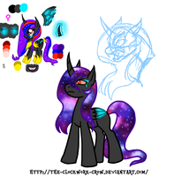 WIP Some Kind Of Nightmare by The-Clockwork-Crow